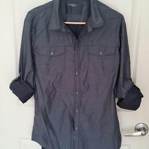 NWOT, Calvin Klein Jeans button down shirt
